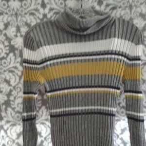 Style & Company Striped Sweater
